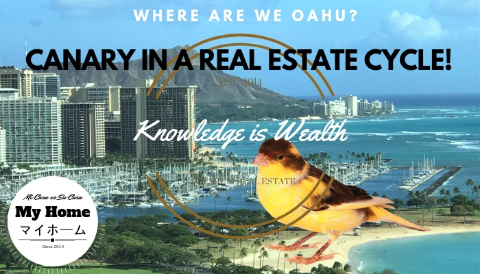 Canary in a Real Estate Cycle